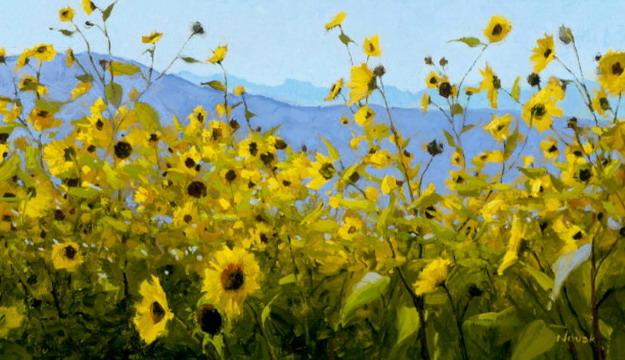 Brian Crain / Gentle Rain / Oil Painting By Shirley Novak