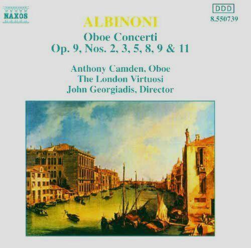 알비노니/오보에 협주곡 D단조 Op.9-2/Anthony Camden,Oboe