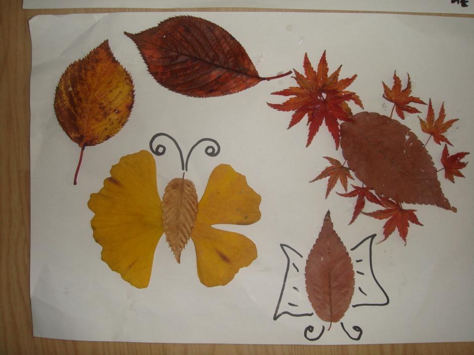 나뭇잎 꾸미기