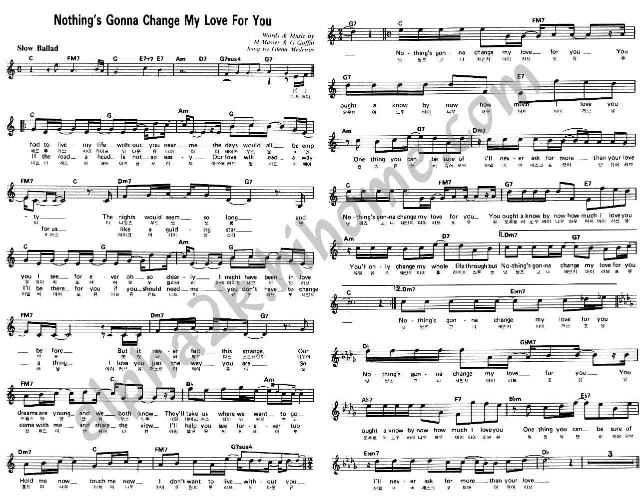 ONE SWEET DAY Chords  Mariah Carey  EChords